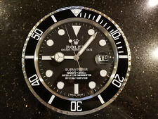 New ListingRare - Rolex Dealer Wall Clock Submariner with Cyclops