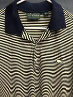 🧔⛳️Amen Corner Golf Masters Tournament Mens Short Sleeve Polo Shirt Large L🧔⛳️
