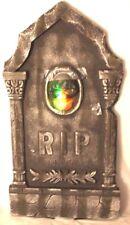 Halloween Tombstone Pair 36 Inch Flashing Led Lights