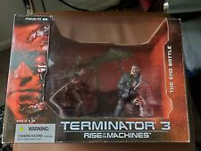 New! Mcfarlane Toys Terminator 3 Rise Of The Machines End Battle Box Set!