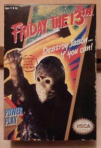 NECA FRIDAY THE 13TH VIDEO GAME JASON FIGURE BRAND NEW SEALED MISB REEL TOYS
