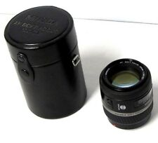 Minolta AF Variable Soft Focus 100mm  1:2.8 (32) Lens and hard case.