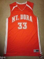 Mount Mt. Dora High School Hurricanes #33 Basketball Game Used Jersey 2Xl