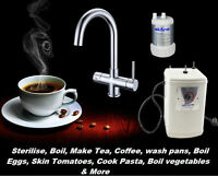 Instant Boiling Water 3 In 1 Hot/Cold Tap 2.3L LATEST MODEL – Chrome child lock