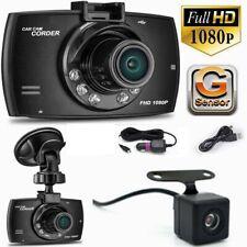 HD 1080P Dual Lens Car DVR Camera Dash Cam Vehicle Video Recorder Night Vision
