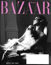Harper's Bazaar magazine Bella and Gigi Hadid Fashion Doll eye portraits Cher