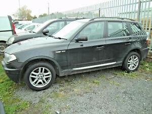 BMW X3 REAR DOOR PASSENGERS BLACK