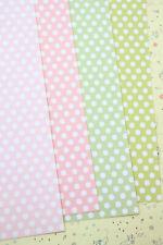 Polka Dots Cardstock 250gsm printed fancy dot card stock wedding craft postcards