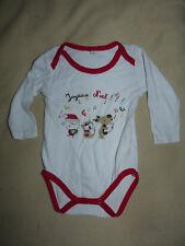 Body Joyeux Noël La Halle bébé 18 mois TBE