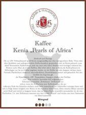 """Kenia """"Pearls of Africa"""" Kaffee 1kg"""