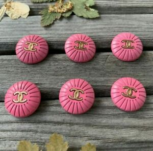 Buttons Chanel 6pcs 18mm