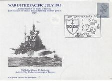 RNCC10 HMS King George V War in the Pacific July 1945