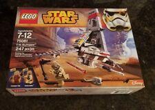 New unopened Lego Star Wars T-16 Skyhopper 75081 RARE Pilot and Tusken Raider