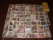 Vintage Monkees Photo Trading Cards Rare Donruss 75 Diff. Cards & Box MIB 1967