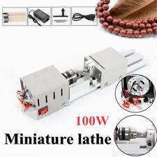 100W Miniature Lathe Beads Machine Polisher Woodworking DIY Drill Rotary Tool