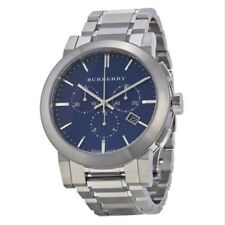 Burberry Men's The City Blue Dial Swiss Chronograph Watch BU9363