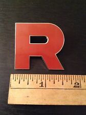 Team Rocket Pin Cosplay Pokemon Kanto Badge and Johto Region