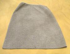 Fendi Pencil Skirt Light Grey Textured Wool Blend Knee Length sz 44 IT 10 US GUC