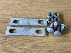 Palisade Security Fencing - Fishplates and Bolts