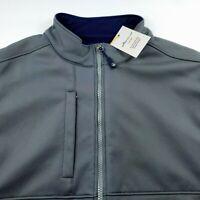 Peter Millar Crown Sport Performance Fuse Hybrid Vest Jacket Gray Men Large $185