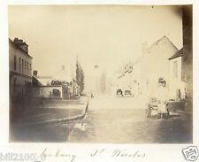Villeneuve-sur-Yonne  photo ancienne  Faubourg St-Nicolas