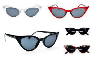 Cat Eye Sunglasses Fashion Retro1950/60s Fashion In 5 Colours Metal Hinges SG58