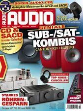 AUDIO 10/2021 Zeitschrift Magazin neuwertig + CD