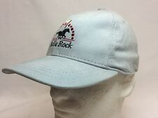 NEW BULLE ROCK GOLF CLUB HAT FITTED MEDIUM LIGHT GRAY MADE IN USA