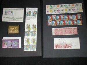 lots divers raretes grosse cote carnet complet timbre or bdes rare super lotsA+