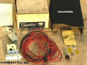 Cadillac Rear Compartment Lock Kit Calais_DeVille_Eldorado_Fleetwood 1971 NOS
