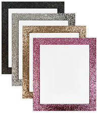 Cabaret Picture Photo Frames in Black Gold Silver & Pink Super Sparkly Diamonte