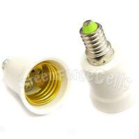2 pcs E27 to E14 Base Screw Socket Lamp LED Light Bulb Adapter Converter