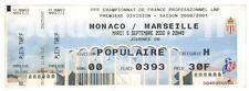Billet  / Place  OM Olympique de Marseille - Monaco vs OM  ( 011 )