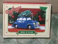 BRINGING THE TREE HOME ~ Department 56 ~ A Christmas Story