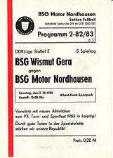 DDR-Liga 82/83 BSG Motor Ostrów-BSG subcitrato gera, 03.10.1982