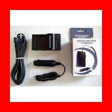 ★★★ CHARGEUR SECTEUR+VOITURE Compatible CANON NB-7L / NB7L Digital IXUS 120 IS