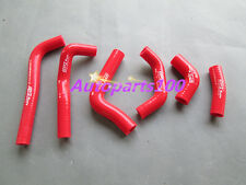 FOR HONDA CRF450 CRF450R 2002 2003 2004 02 03 04 SILICONE HOSE KIT RED