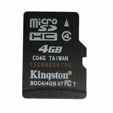 4GB/Genuine Kingston Micro SD SDHC TF Flash C4 Memory Card f Phone