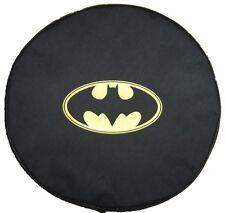"""SpareCover® Brawny Series - Batman Classic logo 32"""" - 33"""" Denim Vinyl Tire Cover"""