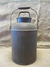 Vintage Milk Cream Container > Antique Bucket Can Farm Cow Metal Small 9164