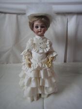"SIMON and HALBIG - WALKING DOLL 13 ½""  Antique German Doll Circa - late 1890's"