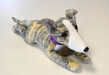 Blue Brindle Whippet Soft Toy - Wendy
