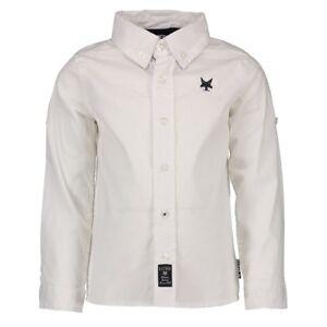 ✿LCEE✿ Jungen Boys Hemd Shirt langarm white Gr.116-164 UVP 44,95