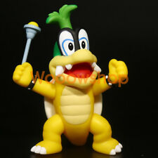 "Super Mario Bros. Iggy Koopalings 4"" Action Figure Statue Nintendo Doll New"