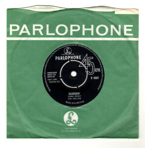 """HOLLIES.SEARCHIN' / WHOLE WORLD OVER.UK ORIG 1963 7"""" & CO/SLEEVE.EX/EX"""