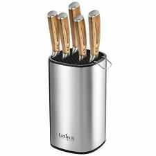 Universal Knife Block, Stainless Steel Knife Holder- Organizer, Rectangular