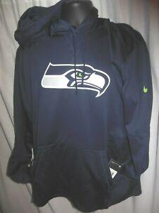 Seattle Seahawks  NFL Men's Nike Thermo Fabric Hooded SweatshIrt XL