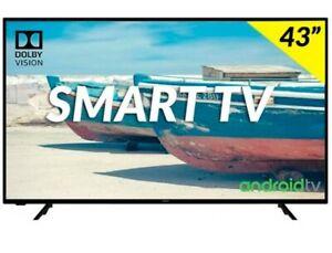 Hitachi hak5751 Smart TV 43 4k Dolby Vision Android tv          tcl Samsung lg