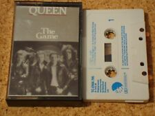 QUEEN - The Game - cassette tape album - original silver foil inlay