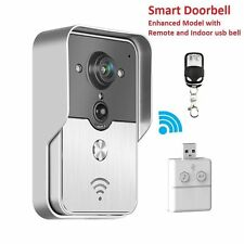 Smart Doorbell Wifi Wireless Remote Video Phone Home Door Security New Improved